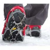 Walking Crampons and Walking Poles